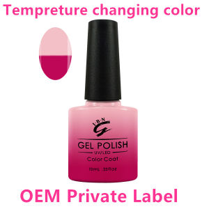 Private Label Color Changing Nail Art UV Gel Nail Polish pictures & photos