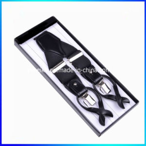 High Quality Jacquard Design Button/Clip Suspender for Men (BD1031) pictures & photos