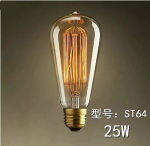 2015 Hot Sale E27 6W Vintage Edison Filament Lighting Bulbs St64 pictures & photos
