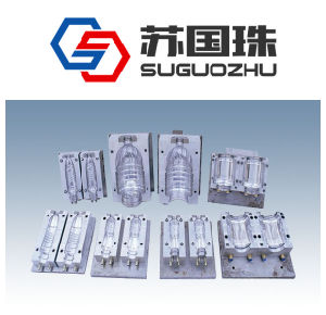 1L Pet Water Bottle Blowing Mould for Semi-Auto Machine
