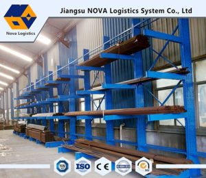 Long Goods Single Arm Cantilever Racking pictures & photos