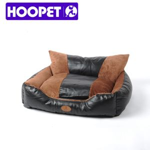 Large Dog Bed XXL PU Leather Luxury Dog Bed pictures & photos