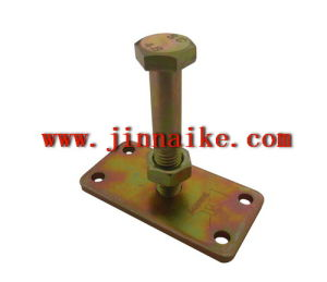 Sliding and Foldtying Door Carriage with One Central Hole Block pictures & photos