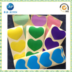 Lowest Price for Love Shape Adhesive Packing Sticker (JP-s011) pictures & photos