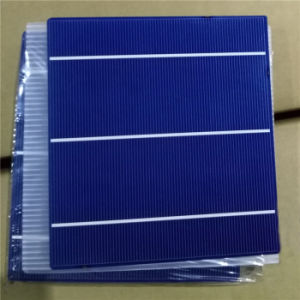 156*140 Polycrystalline Cells with Hight Efficiancy 17.8% and Cheap Price pictures & photos