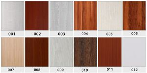 Wooden Transfer PVC Doors with High Quality and Moderate Price pictures & photos