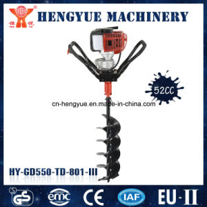 52cc Gasoline Earth Hand Auger Ground Drill pictures & photos