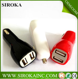 Wholesale Universal 2.1A Dual USB Car Charger for iPhone 5 4 4s pictures & photos