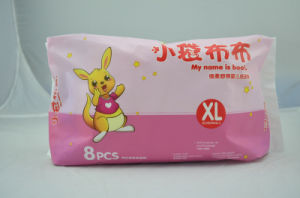 Super Absorption Cotton Disposable Baby Diaper pictures & photos
