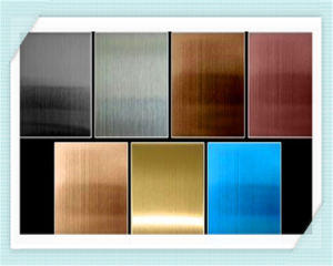 China Supplier Decorative Stainless Steel Panel