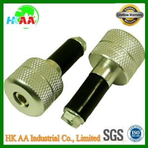 CNC Machining Solid Aluminum Motorcycle Handle Bar Ends with Ts16949 Certification pictures & photos