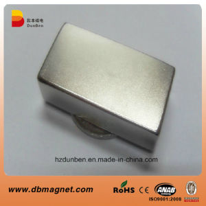 High Performance Sintered Block Neodymium Magnet pictures & photos