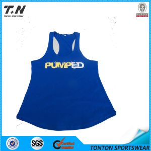 Colourful Gym Blank Gym Womens Stringer Singlet Wholesale pictures & photos
