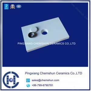 Alumina Ceramic Tile with Hole/Chinese Wear Ceramic Liner Producer pictures & photos