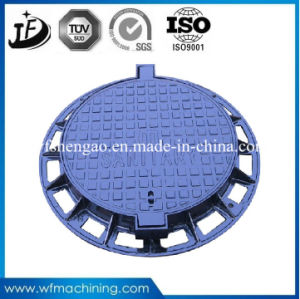 Ductile Iron Metal Mould Sand Casting Round/Double Sealed Manholes pictures & photos