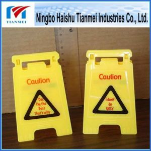 Mini PP Floor Sign, Customized Notice Sign, Warning Sign pictures & photos