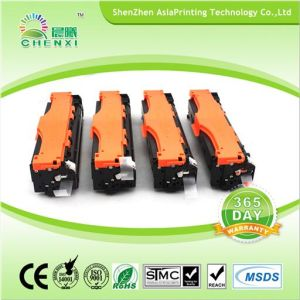 New Compatible Toner CF380X CF381A CF382A CF383A Color Toner Cartridge for HP Color Laserjet PRO Mfp M476 pictures & photos