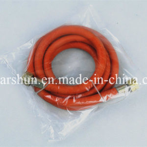 High Performance Flexible Braided Gas Cooker Connection Hose in SBR, NBR, EPDM Material pictures & photos