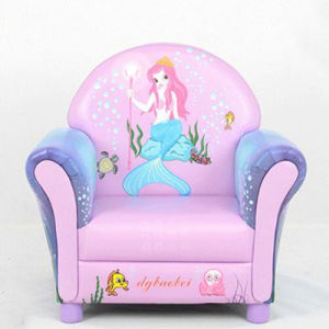 Kids Upholster Chair/Mermaid Carton Design Kids Sofa pictures & photos