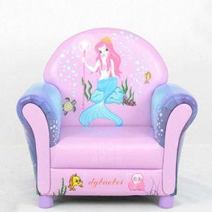 Kids Upholster Chair/Mermaid Carton Design Kids Sofa pictures & photos