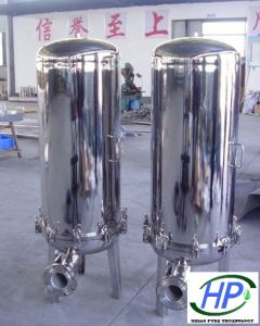 Stainless Steel Cartridge Filter Housing for RO Water Treatment System pictures & photos