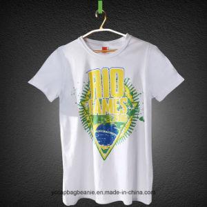 Newest Design 100% Cotton Cheap T Shirt pictures & photos