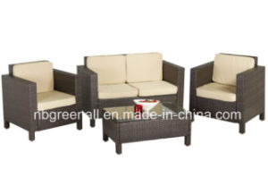 PE Rattan Modern Outdoor Leisure Patio Sofa Garden Furniture pictures & photos
