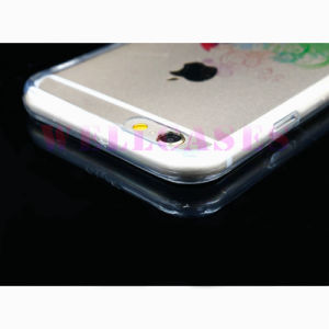 Customized Painting Transparent Mobile Phone Cover/Case pictures & photos