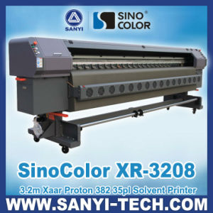 3.2m Xr-3208 Digital Solvent Printer, with Xaar Proton 382 Heads pictures & photos