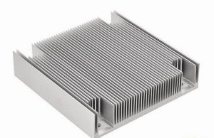 Polished Silver Aluminum Extrusions with Anodizing Surface Treatment