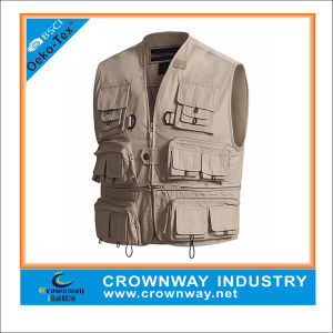 Waterproof Fly Fishing Vest Jacket Clothes for Men pictures & photos
