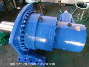 P Right Angle Foot Mounted Planetary Gearbox pictures & photos