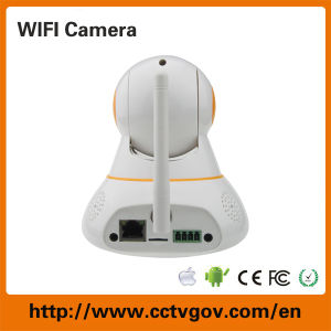 1.0MP 720p Speed Dome CMOS 64GB SD Card PTZ IP Camera pictures & photos