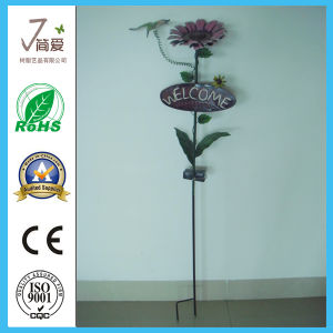 Handmade Metal Garden Decoration, Iron Casting Outdoor Light pictures & photos