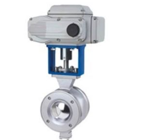 Electric Operated V Type Wafer Ball Valve pictures & photos