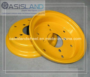 Split Forklift Wheel Rim 3.00d-8 4.00e-9 pictures & photos