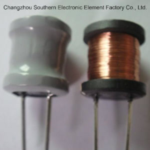 Radial Type Wirewound Inductor/Power Ferrite Core Inductor with RoHS pictures & photos