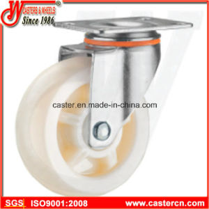4 Inch Medium Duty Swivel White PP Caster pictures & photos