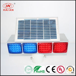 Pubilc Road Safety Solar Light/LED Outdoor Waterproof Warning Light Expressway; Freeway; Super Highway Solar Traffic Energy Warning Light pictures & photos