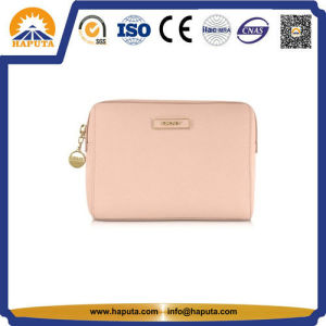 Cheap Pink Leather Carry Cosmetic Bag Toiletry Bag (HB-6662) pictures & photos