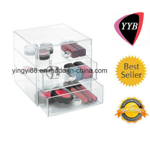 Custom Acrylic Cosmetic Display with Drawers pictures & photos