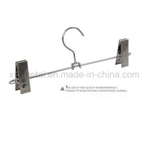 Stainless Steel Pants Hanger, Metal Wire Hanger for Trousers pictures & photos