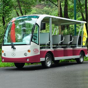 Marshell 14 Seats Electric Enclosed Sightseeing Shuttle Bus (DN-14C) pictures & photos
