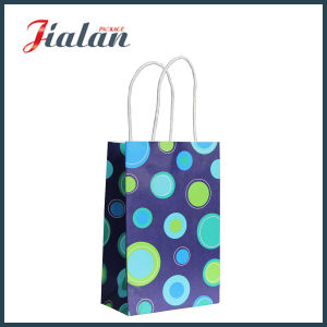 High Quality Handmade White Craft Paper Bag pictures & photos