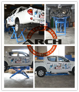 Portable Auto Car Hoist Lift Table Scissor Lift (AAE-SS130) pictures & photos