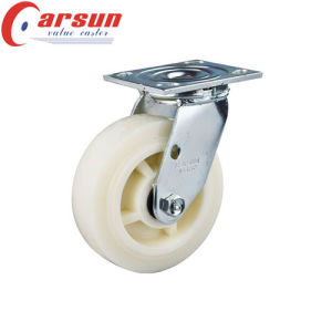 5 Inch Heavy Duty Swivel Nylon Wheel Caster (various brakes available) pictures & photos