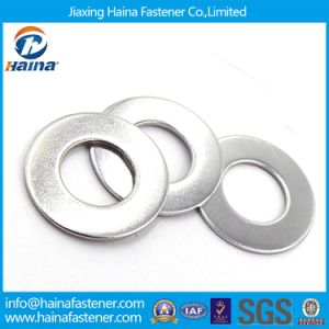 High Quality Stainless Steel DIN125 Plain Washers& Flat Washers pictures & photos