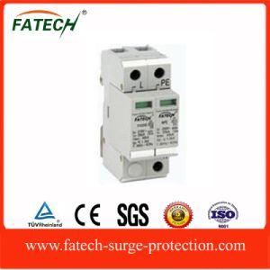 Lightning SPD 1P+N 20ka arrester Surge protector with 1 phase pictures & photos