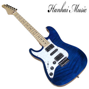 Hanhai Music / Suhr Style Blue Left Handed Electric Guitar pictures & photos