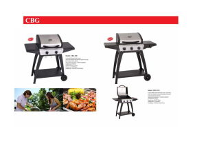 Outdoor Gas BBQ Grill with Wheels pictures & photos